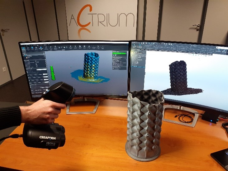 Bureau d'étude-Scanner 3D